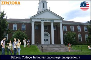 Babson College Initiatives Encourage Entrepreneurs