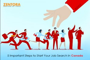 5 Important Steps to Start Your Job Search in Canada