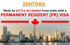 How to Settle in Canada from India with a Permanent Resident (PR) Visa