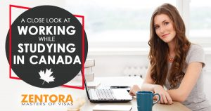 Working while Studying in Canada